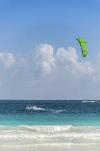 Action Sport at Mexico near Playa del Carmen and Cancun. Traveling Riviera Maya, Quintana Roo adventure. Mexico, North America.