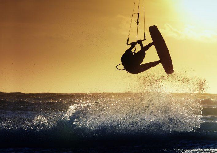 Börja med kiteboarding