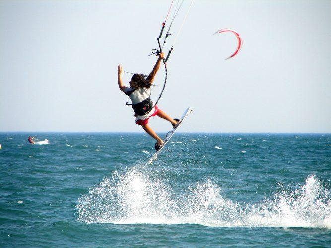 En nybörjarguide till kitesurfing