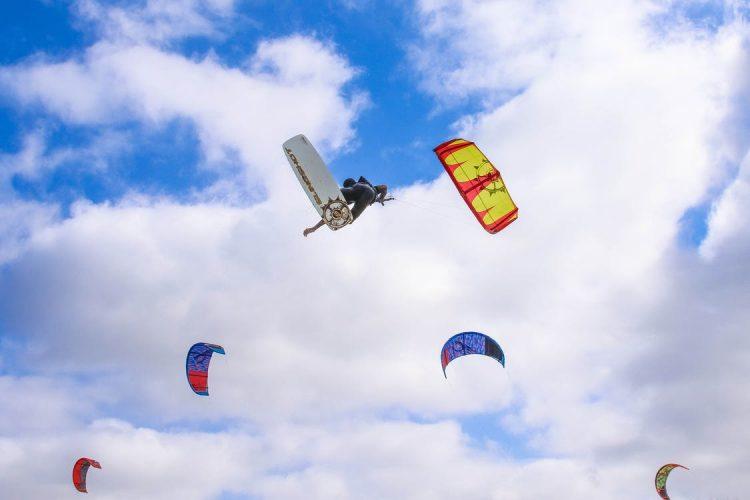 Skador inom kitesurfing